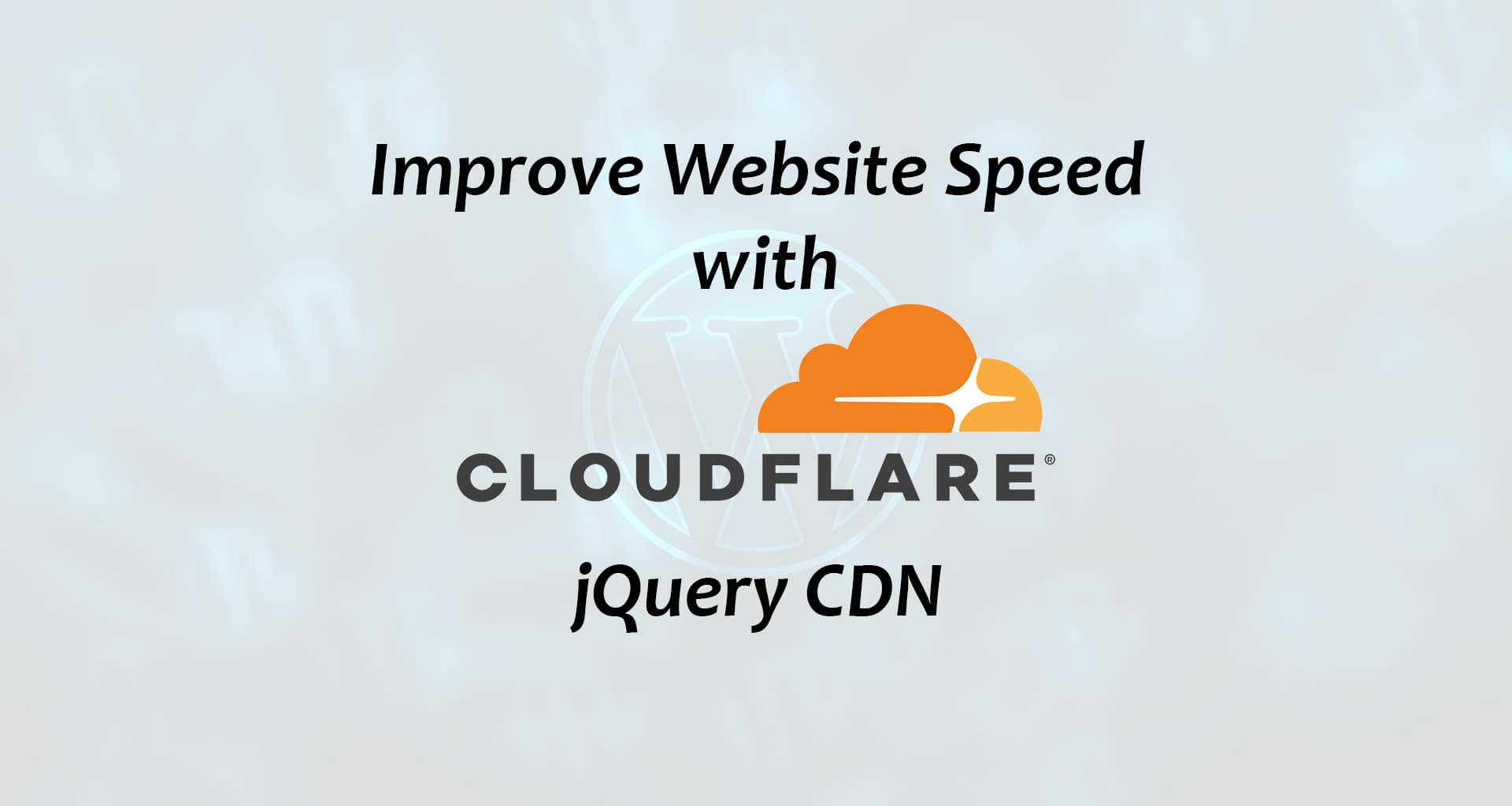 Cloudflare jQuery CDN